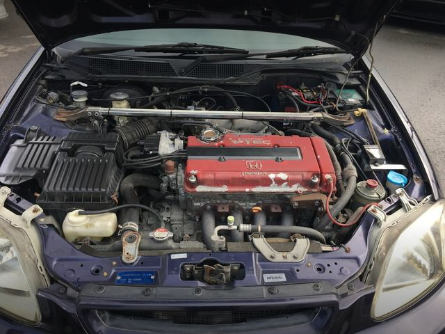 B18C VTEC ENGINE SWAP
