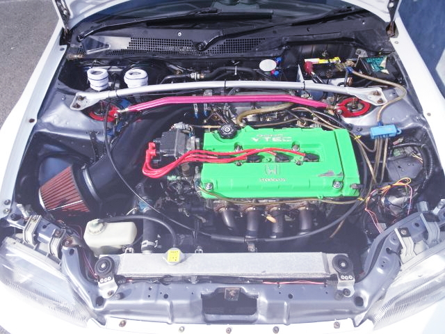 TYPE-R B18C VTEC ENGINE SWAP