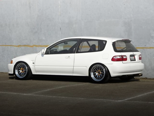 REAR SIDE EXTERIOR EG6 CIVIC SiR2