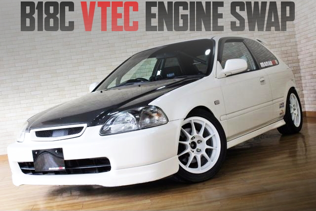 B18C VTEC ENGINE SWAP EK9 CIVIC TYPE-R