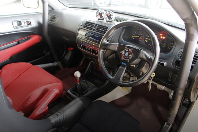 INTERIOR STEERING DEFI METER FOR EK9R