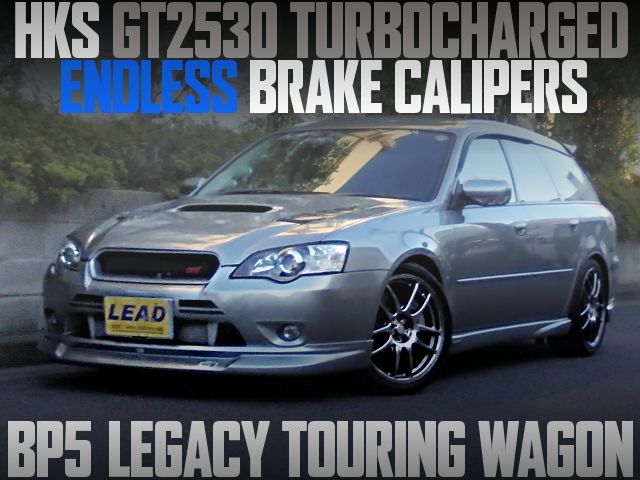 GT2530 TURBO ENDLESS BRAKE BP5 LEGACY TOURING WAGON