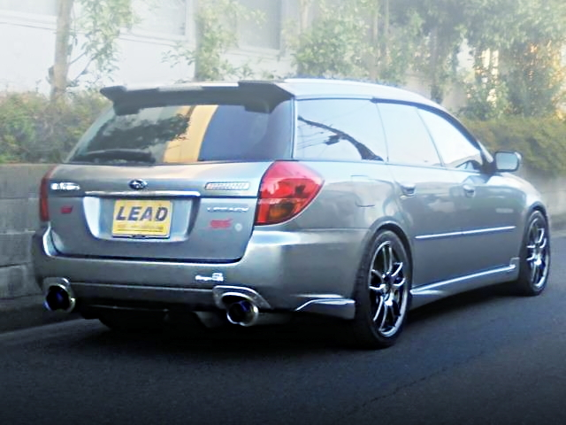 REAR EXTERIOR BP5 LEGACY TOURING WAGON