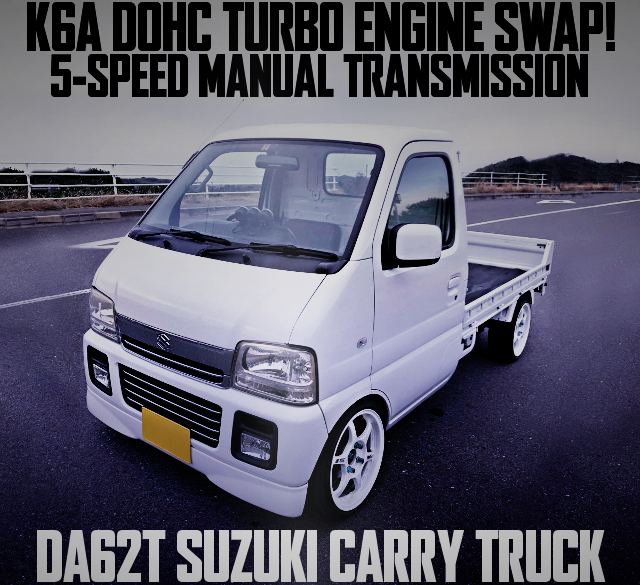 K6A TWINCAM TURBO ENGINE DA62T CARRY TRUCK