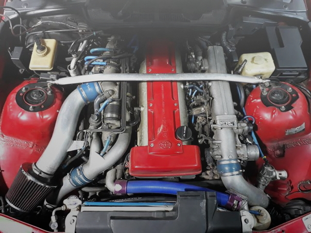 2JZ-GTE TWIN TURBO ENGINE SWAP