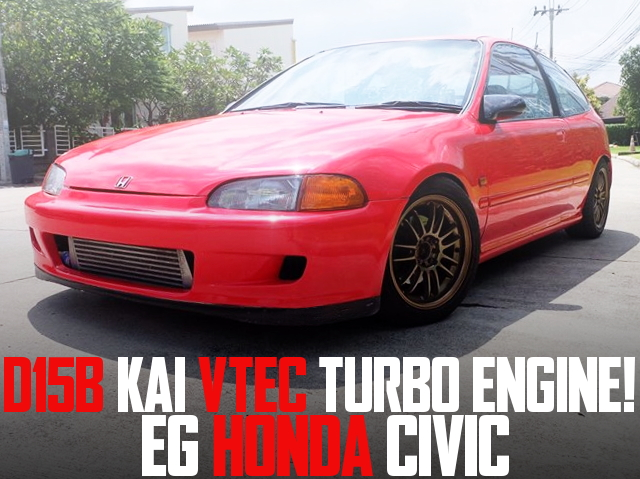 D15B VTEC TURBO EG CIVIC