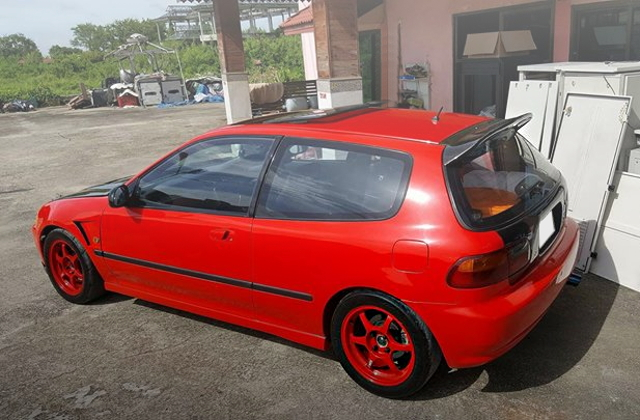 REAR EXTERIOR EG CIVIC