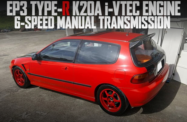 K20A 6-SPEED EG CIVIC