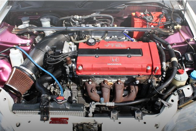 TYPE-R B16B VTEC ENGINE SWAP