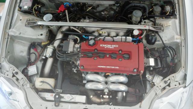 B16A VTEC WASTEGATE TURBO ENGINE