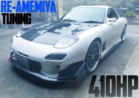 RE-AMEMIYA TUNING FD3S MAZDA RX-7
