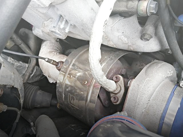 TO4S TURBOCHARGER