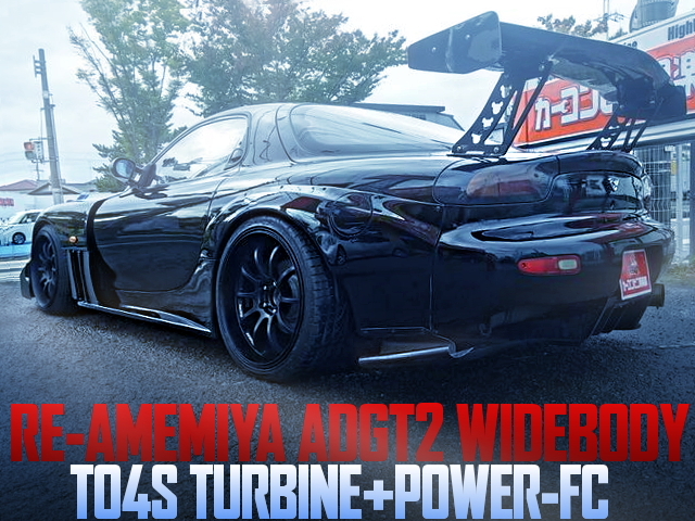RE-AMEMIYA ADGT2 WIDEBODY RX-7