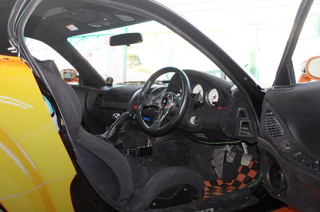 INTERIOR STEERING FORTUNE RX-7
