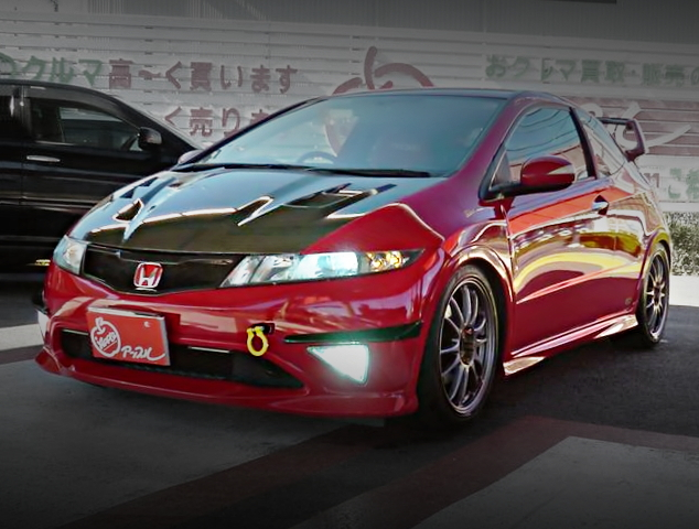 FRONT EXTERIOR FN2 CIVIC TYPE-R EURO