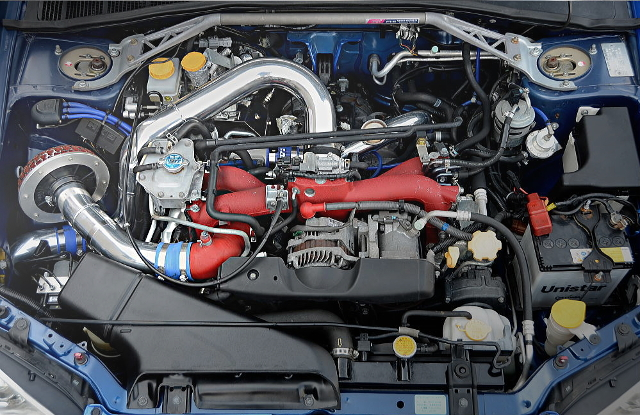 EJ20 BOXER ENGINE GT2835 TURBOCHARGED