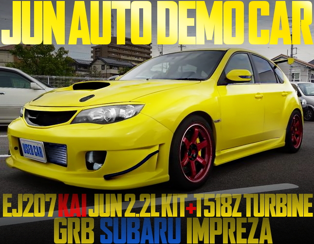 JUN AUTO DEMO CAR GRB IMPREZA HATCHBACK
