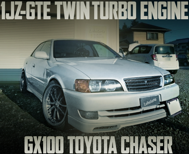 1JZ-GTE TWIN TURBO SWAP GX100 CHASER