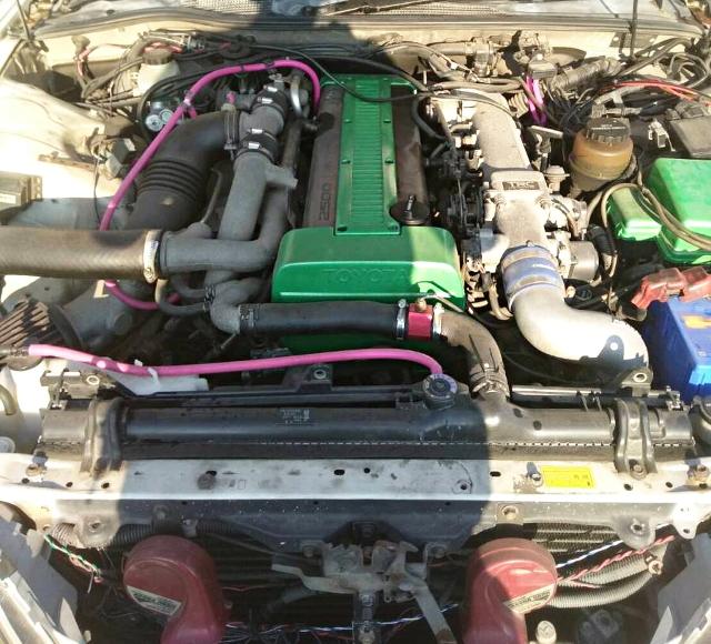 1JZ-GTE TWIN TURBO ENGINE SWAP