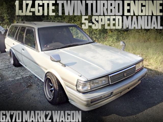1JZ-GTE SWAP 5-SPEED GX70 MARK2WAGON