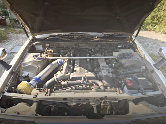 1JZ 2500cc TWIN TURBO ENGINE SWAP