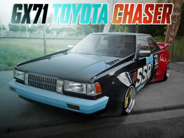 WORKS WIDEBODY SSR COLORING GX71 CHASER AVANTE
