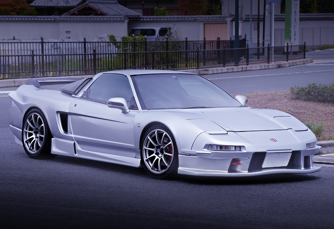 FRONT EXTERIOR SILVER COLOR NA1 NSX