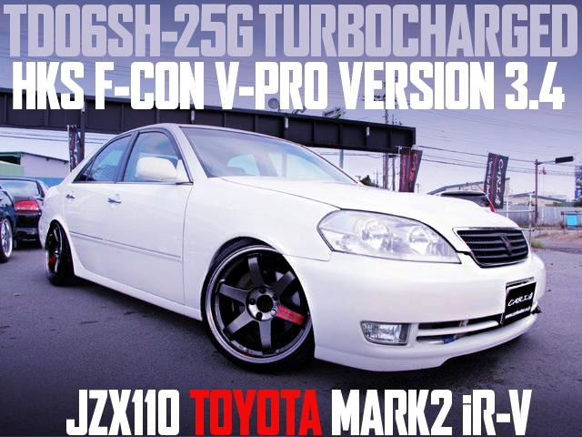 TD06SH-25G TURBINE JZX110 MARK2 iR-V