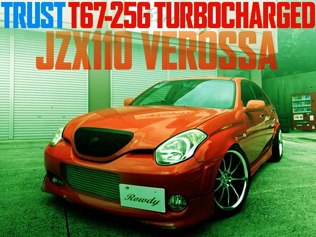 T67-25G TURBINE JZX110 VEROSSA