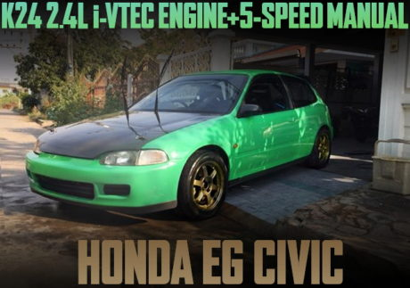 K24 i-VTEC ENGINE 6MT EG CIVIC