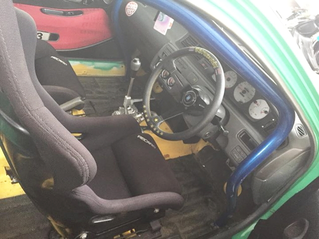 INTERIOR SEAT AND ROLL BAR FOR EG CIVIC