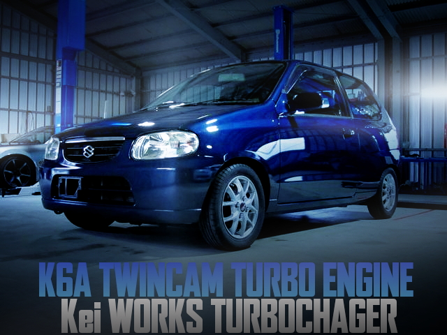 K6A TURBO ENGINE SWAP ALTO VAN N-1