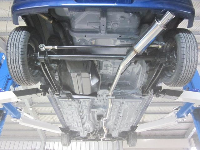 REAR UNDERBODY FLOOR
