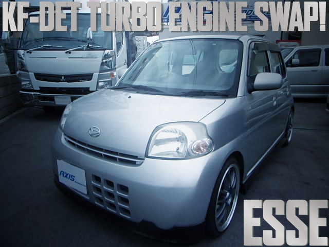 KF-DET TURBO ENGINE DAIHATSU ESSE