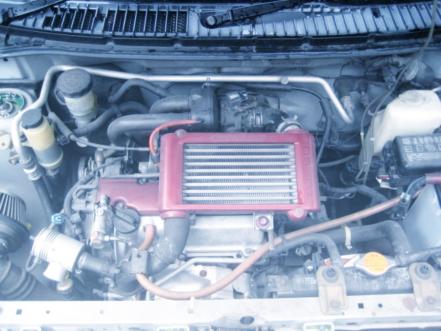 EF TURBO ENGINE SWAP