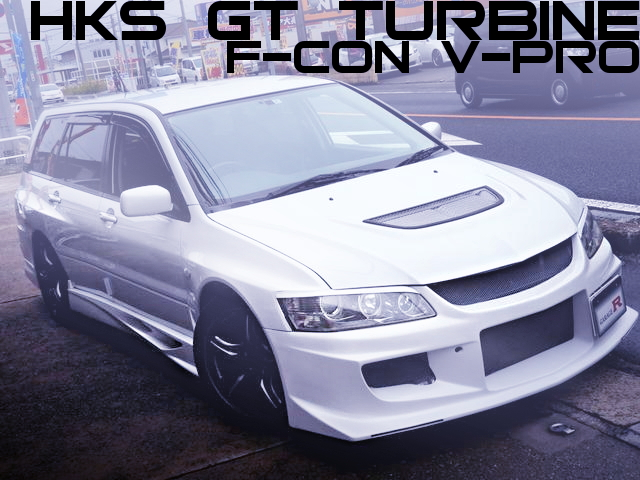 GT-TURBINE CT9W LANCER EVOLUTION WAGON GT
