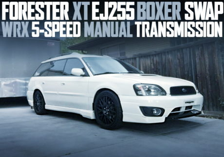EJ255 BOXER ENGINE SWAP LEGACY WAGON