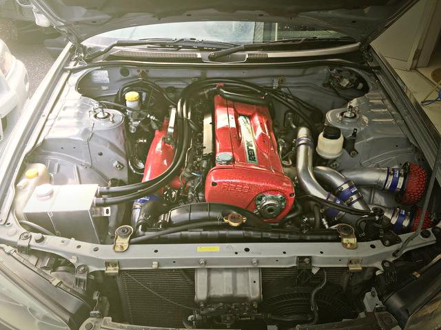 SKYLINE GT-R RB26 ENGINE SWAP