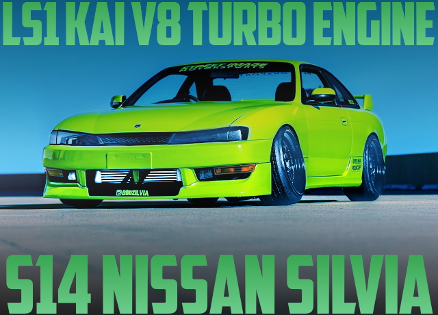 LS1 V8 TURBO ENGINE S14 SILVIA