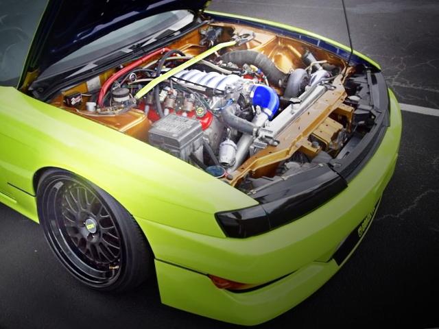 LS1 V8 ENGINE TURBONETICS TURBOCHARGED