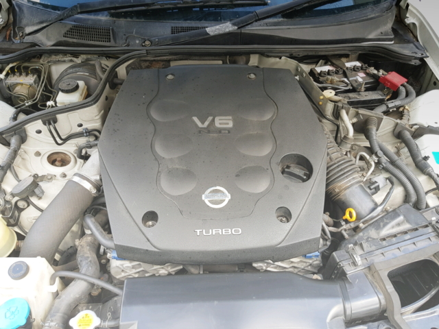 VQ25DET V6 TURBO ENGINE