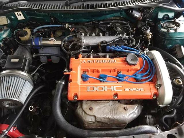 MITSUBISHI 4G63 NATURAL NA ENGINE SWAP