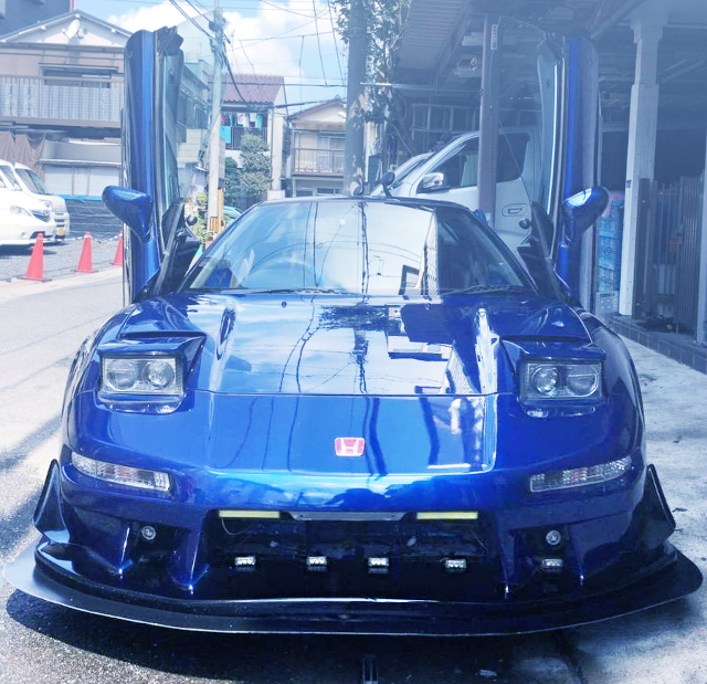 FRONT EXTERIOR NA1 BLUE NSX