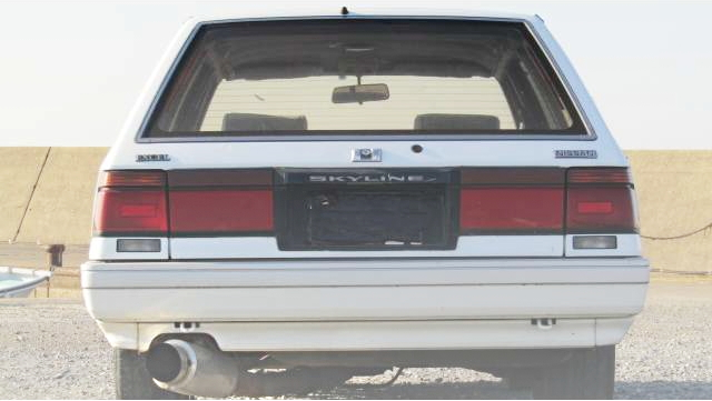 BACK EXTERIOR R31 SKYLINE WAGON
