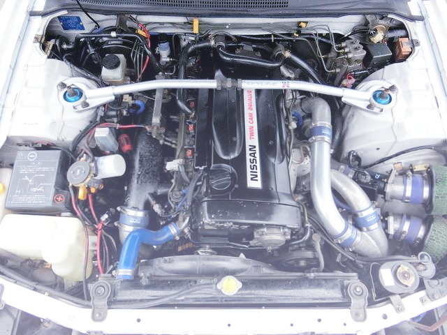 RB26 HKS GT-SS TWIN TURBO ENGINE