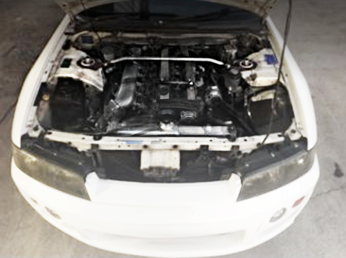 RB25DET TURBO ENGINE OF R33 SKYLINE