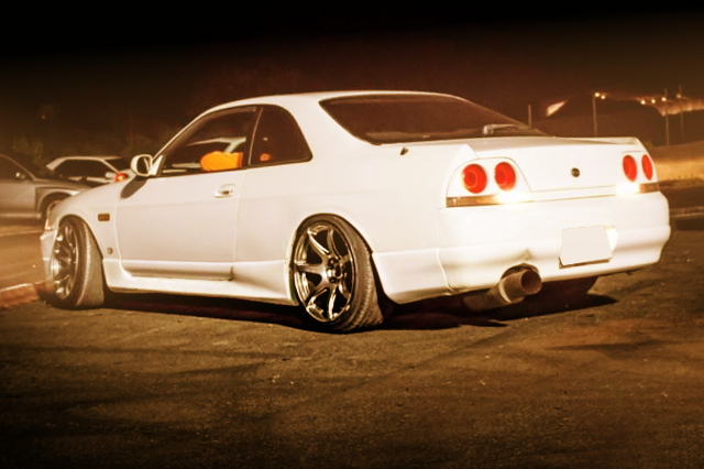 REAR EXTERIOR R33 SKYLINE 2-DOOR COUPE