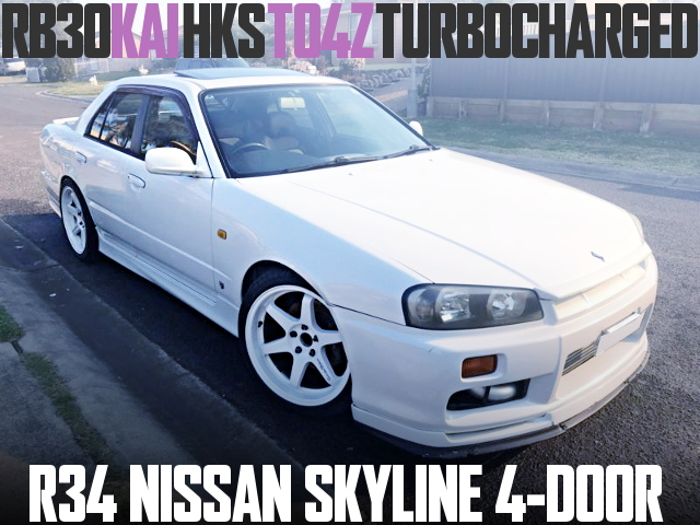 RB30 TO4Z ENGINE R34 SKYLINE 4-DOOR