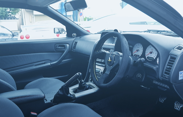 INTERIOR R34 SKYLINE GT-R V-SPEC