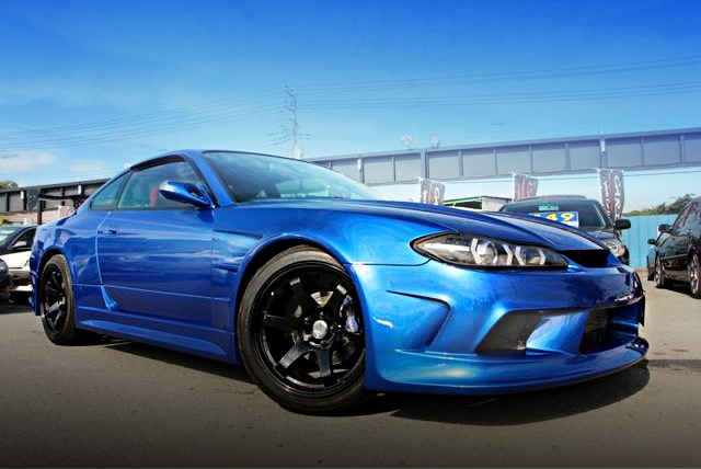 FRONT EXTERIOR S15 SILVIA BAYSIDE BLUE
